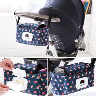Οργανωτής Τσάντας Ιδανικό για Βρεφικό Καρότσι με Θήκες για Μωρομάντηλα - Bag Baby Stroller Organizer Hanging Bag With Tissue Pocket #3 - skroutz.com.cy