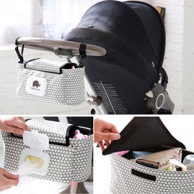 Οργανωτής Τσάντας Ιδανικό για Βρεφικό Καρότσι με Θήκες για Μωρομάντηλα - Bag Baby Stroller Organizer Hanging Bag With Tissue Pocket #6 - skroutz.com.cy
