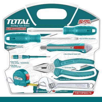 TOTAL Εργαλεία Χειρός Σετ 7τμχ THKTHP90076