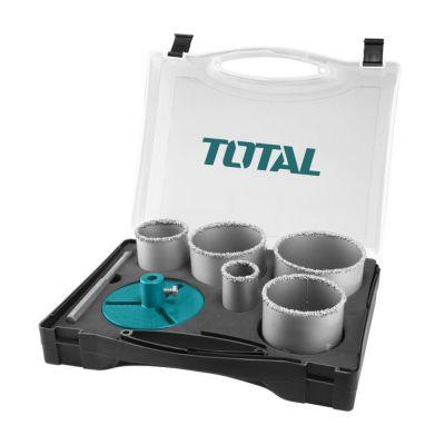 Total Ποτηροτρύπανα Πλακιδίων 33-83mm 7τμχ TACSH2071 - skroutz.com.cy