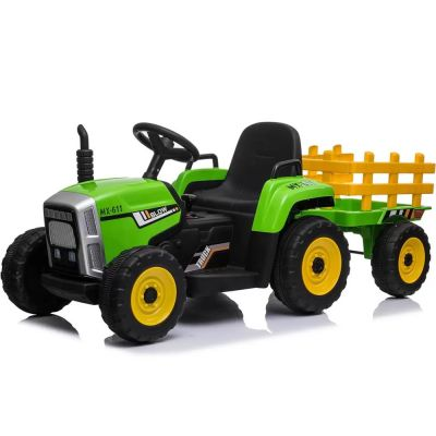 ΗΛΕΚΤΡΟΚΙΝΗΤΟ TRACTOR 12VOLTS GREEN WITHOUT R/C XM611 - 1131095 - skroutz.com.cy