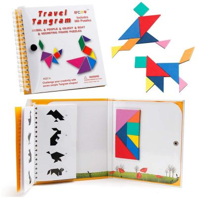 Puzzle Book Magnetic Tangram | IQ Toys, IQ Test Mind Game Toys Brain Teaser | Toy Shop Cyprus | Toys Cyprus