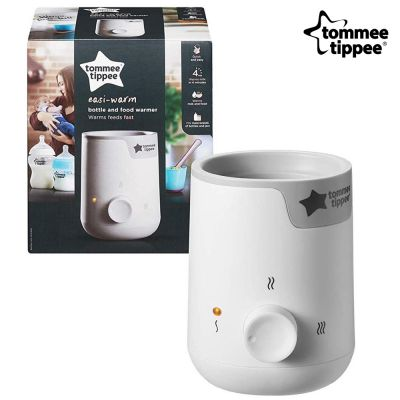 Tommee Tippee Easy Warm Baby Electric Bottle and Food Warmer, Mains Powered, White - skroutz.com.cy