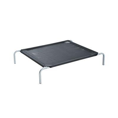 Υπερυψωμένο Μεταλλικό Κρεβάτι για Κατοικίδια Medium 110 x 80 x 20 cm Pawhut D04-063BK