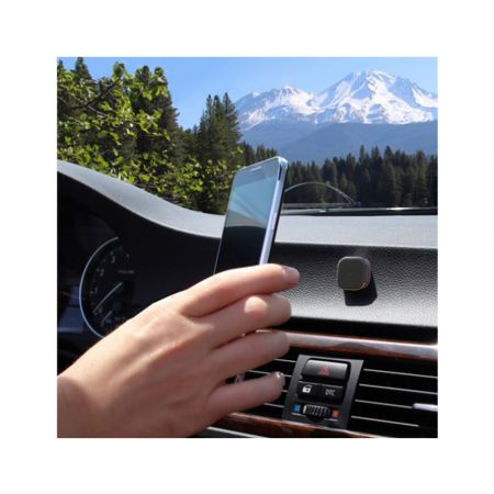 Επίπεδη μαγνητική βάση κινητού για το αυτοκίνητο