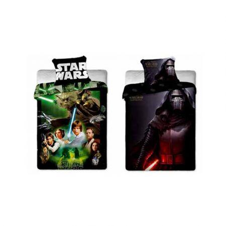 Star Wars Αυθεντικό Παιδικό Κάλυμμα Παπλώματος με Μαξιλαροθήκη