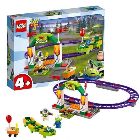 LEGO Juniors Τρενάκι Λούνα Παρκ (10771) - Carnival Thrill Coaster - skroutz.com.cy