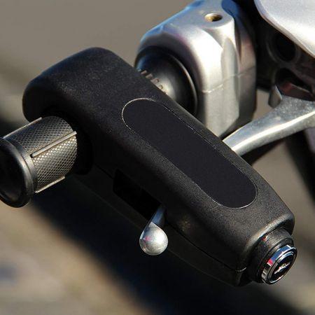 Αντικλεπτική Κλειδαριά Ασφαλείας Μοτοσυκλέτας - Μαύρο