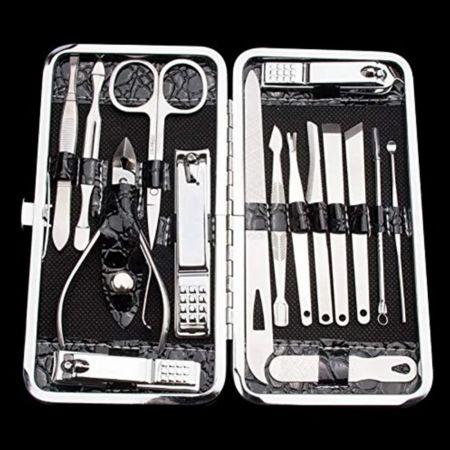 Σετ εργαλείων νυχιών 16 τεμαχίων με σκληρή θήκη - 16 Piece Nail Tool Set With Hard Case