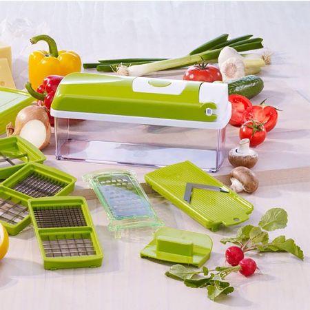 Έξυπνος πολυκόφτης λαχανικών και φρούτων με 14 διαφορετικά εργαλεία κοπής 18269