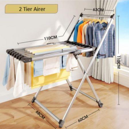 Απλώστρα Ρούχων 2 Βαθμίδων - 2 Tier Clothes Airer