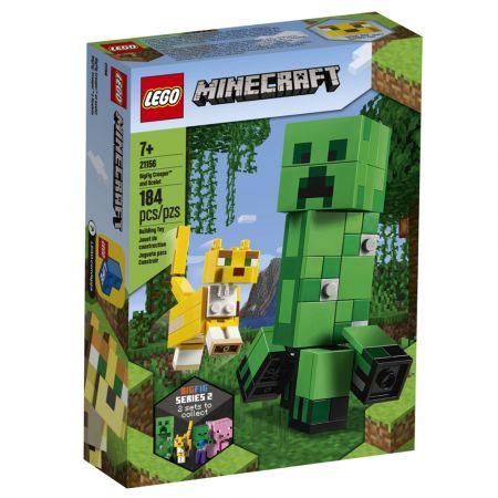 Lego Minecraft BigFig Creeper & Ocelot 21156 - skroutz.com.cy