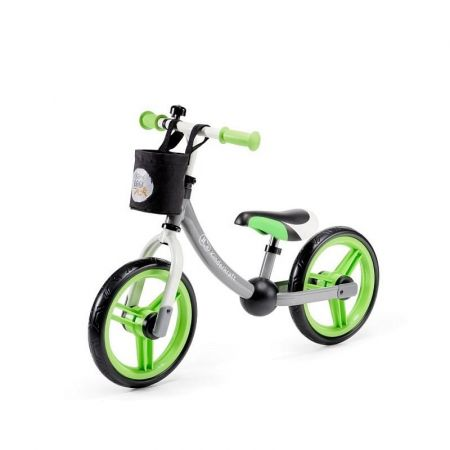 Παιδικό Ποδήλατο Ισορροπίας Με Αξεσουάρ KinderKraft 2Way Next Χρώματος Γκρι