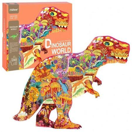 Παζλ Δεινοσαύρων 280 Τεμαχίων - 280 Piece Dinosaur Puzzle