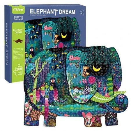 Παζλ Ελέφαντα 280 Τεμαχίων - 280 Piece Elephant Puzzle