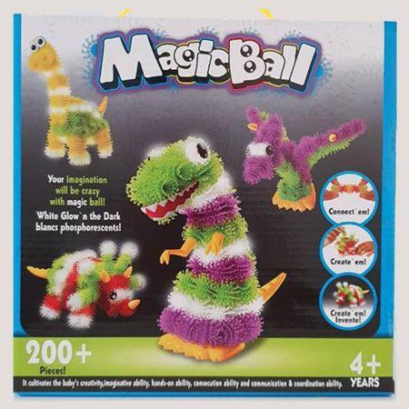 Πολύχρωμες Ακανθωτές Μπαλίτσες - 3D Puzzle DIY Puff Kneading Ball - skroutz.com.cy