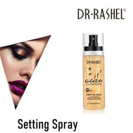 Dr Rashel Setting Spray Goldlite Fix 100ml - Skroutz.com.cy