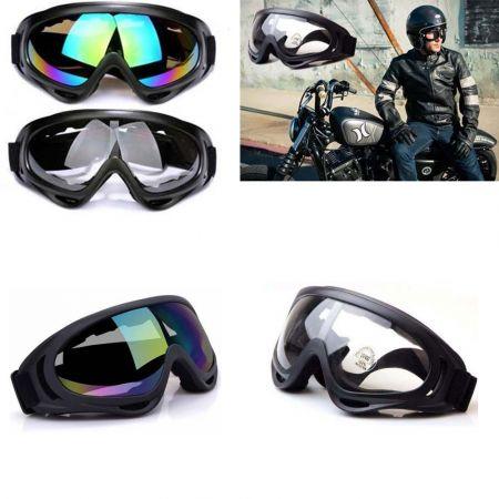 Γυαλιά-Μάσκα για Μοτοσυκλετιστές και Σκιέρ