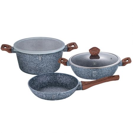 5 Piece Cookware Set Berlinger Haus bh-7060 Forest Line - skroutz.com.cy