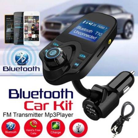 Bluetooth Transmitter Αυτοκινήτου Τ10