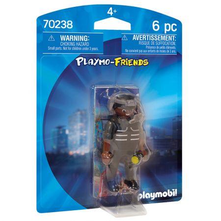 Playmobil City Action Αρχηγός Ομάδας Ειδικών Αποστολών (70238)