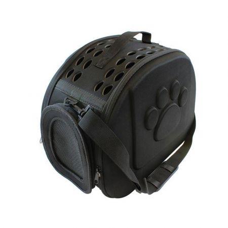 Τσάντα Ώμου Μεταφοράς Κατοικιδίων σε μαύρο χρώμα, 43x32x30 cm, Pet Transport Bag - AG644I - Skroutz.com.cy