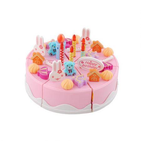 Σετ Παιχνίδι Τούρτα Γενεθλίων 75 τεμαχίων με φωτισμό και ήχο, Cutting birthday cake set - Skroutz.com.cy