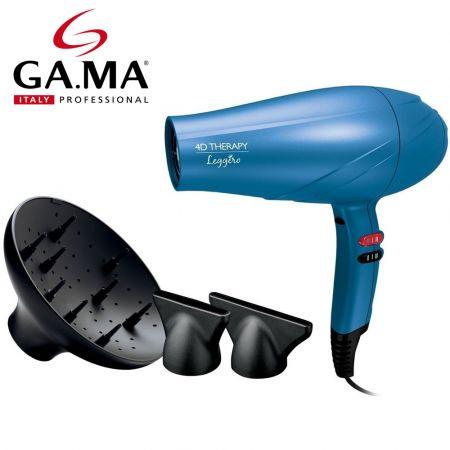 Επαγγελματικό Πιστολάκι Μαλλιών Leggero Ozone Ion 4D Blue GA.MA A21 - skroutz.com.cy