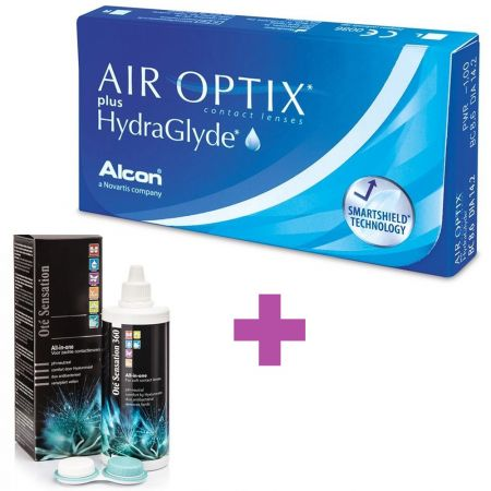 Air Optix Plus HydraGlyde + Υγρό Cooper Vision All In One Light 360 ml - Skroutz.com.cy - contact lenses cyprus