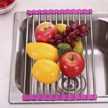 Πιατοθήκες & Κουταλοθήκες Νεροχύτη,Ανοξείδωτη πτυσσόμενη Βάση-Στραγγιστήρι,Αξεσουάρ για νεροχύτες, Νεροχύτες κουζίνας, Είδη κουζίνας,ανοξειδωτη βαση για το νεροχυτη που διπλωνει