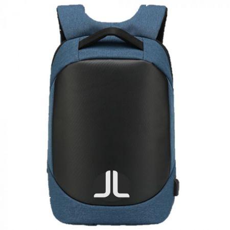 Αντικλεπτικό Σακίδιο Πλάτης με Θύρα USB Moteck της Laidback Life - Blue
