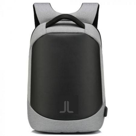 Αντικλεπτικό Σακίδιο Πλάτης με Θύρα USB Moteck της Laidback Life - Grey