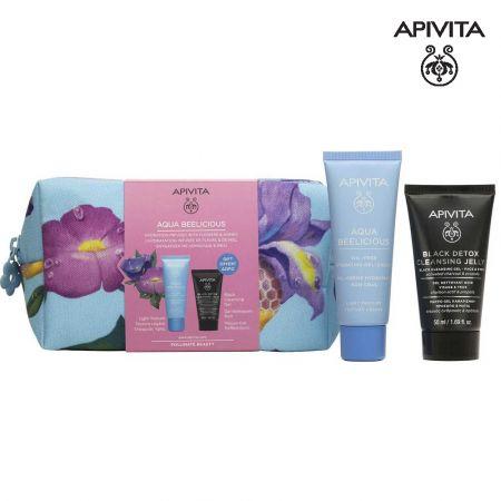 Apivita Promo Aqua Beelicious Comfort Hydrating Light Cream Κρέμα Ενυδάτωσης Με Λουλούδια & Μέλι Ελαφριάς Υφής, 40ml & Δώρο - skroutz.com.cy