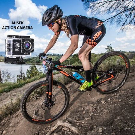 Ausek Action Camera At-q1/ 4k - skroutz.com.cy