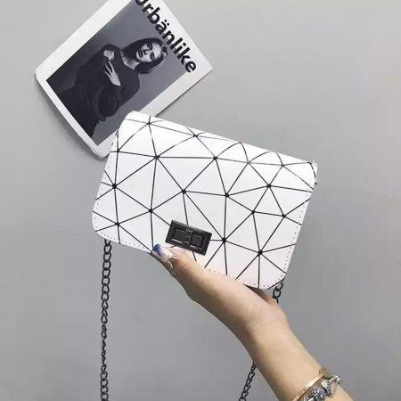 Luxury Womens Bag - White - skroutz.com.cy