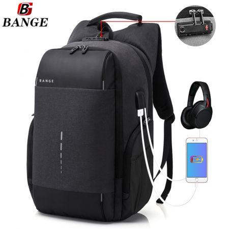 Επαγγελματικό Αντικλεπτικό Σακίδιο Πλάτης Με TSA Lock - Anti Theft Business Travel Laptop School Backpack Μαύρο Black - skroutz.com.cy