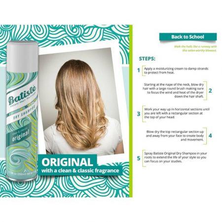 Batiste Dry Shampoo Original Clean& Classic 200ML - skroutz.com.cy