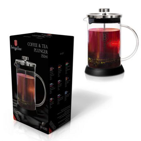 Καφετιέρα / Τσαγιέρα Γαλλικού Χειρός BH-6302, COFFEE & TEA PLUNGER, 600 ML - Skroutz.com.cy