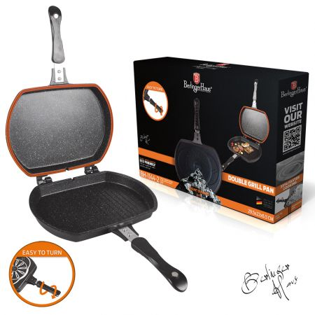 Double grill pan Berlinger Haus BH-6581 - skroutz.com.cy