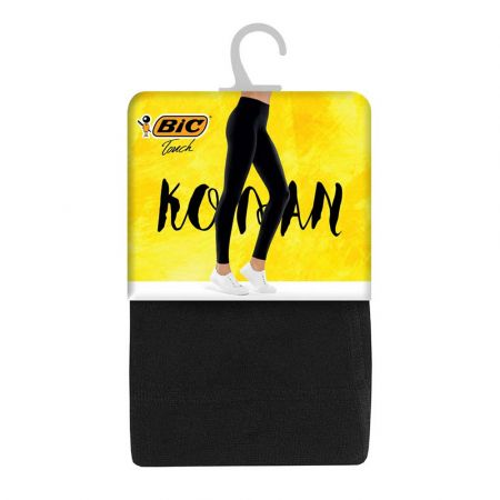 Bic Touch Legging Long Stretch Basic Kolan Black Medium / Large / Small