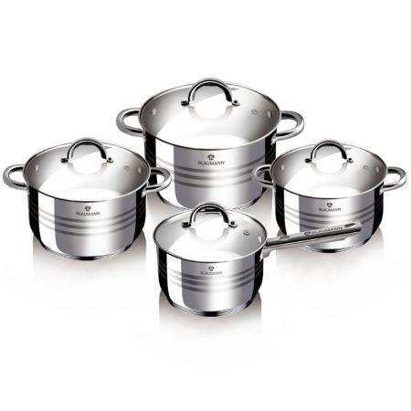 Σετ Μαγειρικών Σκευών από Ανοξείδωτο Ατσάλι 8 τμχ Gourmet Line Blaumann BL-3115 - skroutz.com.cy