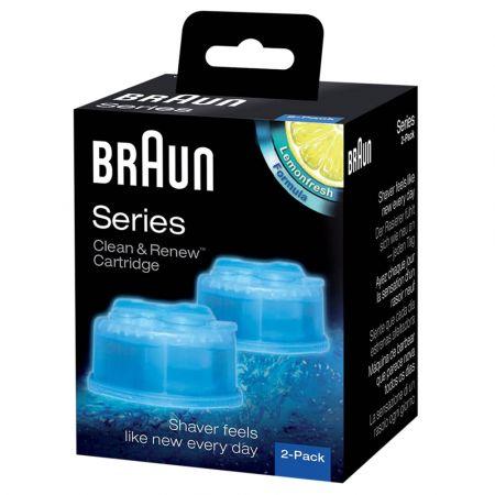 Σετ 2 Τεμαχίων Καθαρισμού Ξυριστικών Μηχανών-BRAUN CCR2