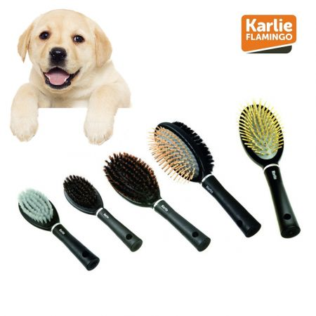 Karlie Flamingo Hair Brush For Puppies