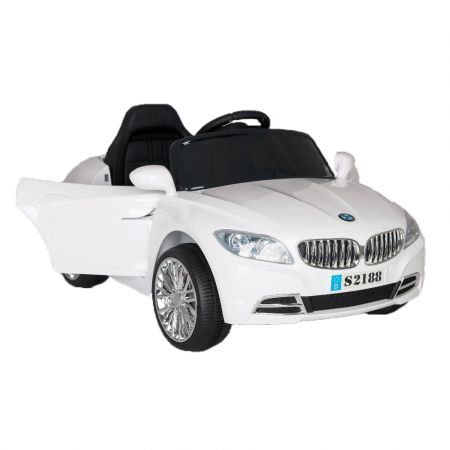 Kids car white s2188 2x6v 4 ah b/o r/c