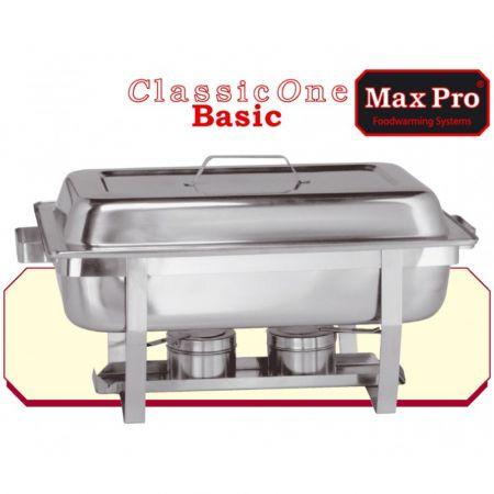 Ανοξείδωτο Ρεσώ Ταψί και Καπάκι 60X35X37  Max Pro