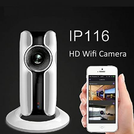 HD WiFi Κάμερα Chuango 5 Megapixel, High Definition και IP - skroutz.com.cy