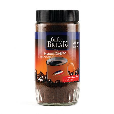 Coffee Brake Instant Corree 200Gr - skroutz.com.cy