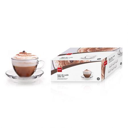 Cok COFFEE SET 25cl (6+6)pcs CAPPUCINO