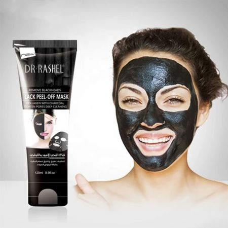 Collagen with Bamboo Charcoal Peel-Off Mask 120ml - Dr Rashel