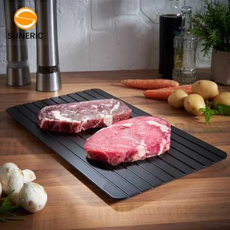 magic defrost tray - thaw food in minutes! - skroutz.com.cy